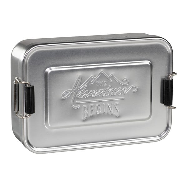Box na desiatu Gentlemen's Hardware Silver Tin