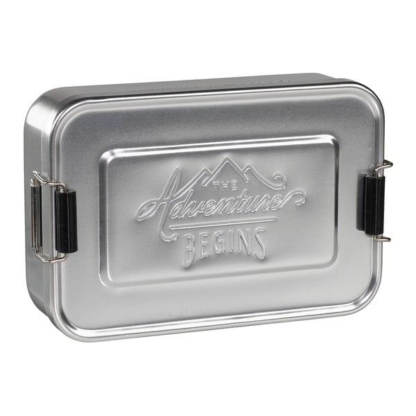 Silver Tin ételhordó doboz - Gentlemen's Hardware