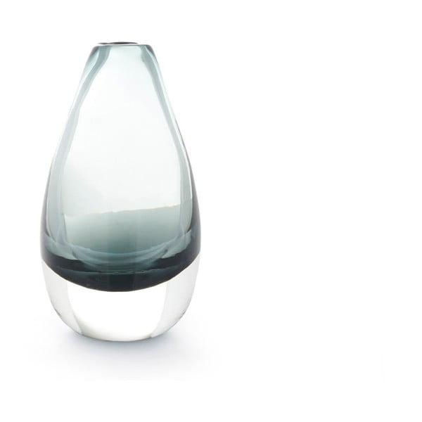 Zelená průhledná váza A Simple Mess Kogle, výška 12cm
