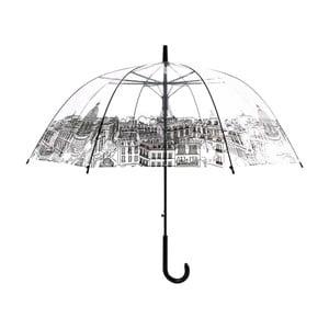 Transparentní deštník Paris