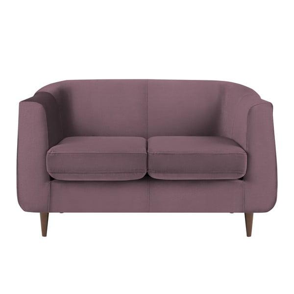 Canapea cu 2 locuri Kooko Home GLAM, mov
