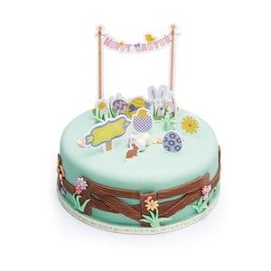 Papírové ozdoby na dort Hoppity