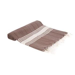 Hamam osuška z ručně tkané bavlny ZFK Elna, 180x100cm