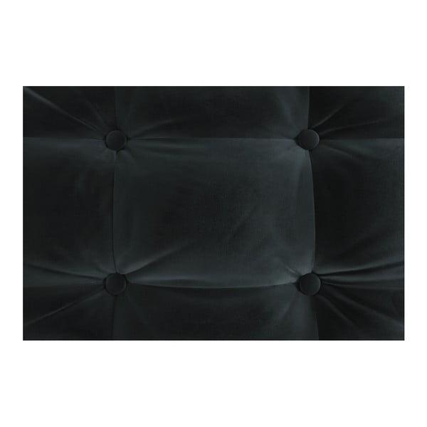 Antracitová rohová pohovka Daniel Hechter Home Aldo Anthracite, pravý roh