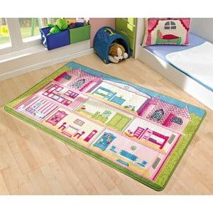 Dětský koberec Game House, 100x160 cm