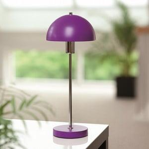Stolní lampa Vienda, fialová