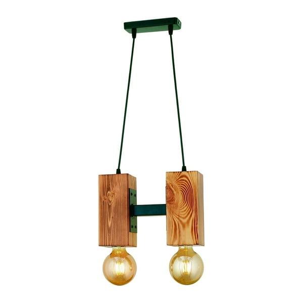 Závěsné svítidlo z habrového dřeva Carina Dos