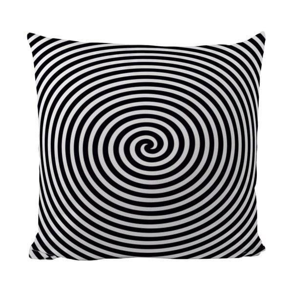 Polštářek Black Shake Circle Hypnosis, 50x50 cm