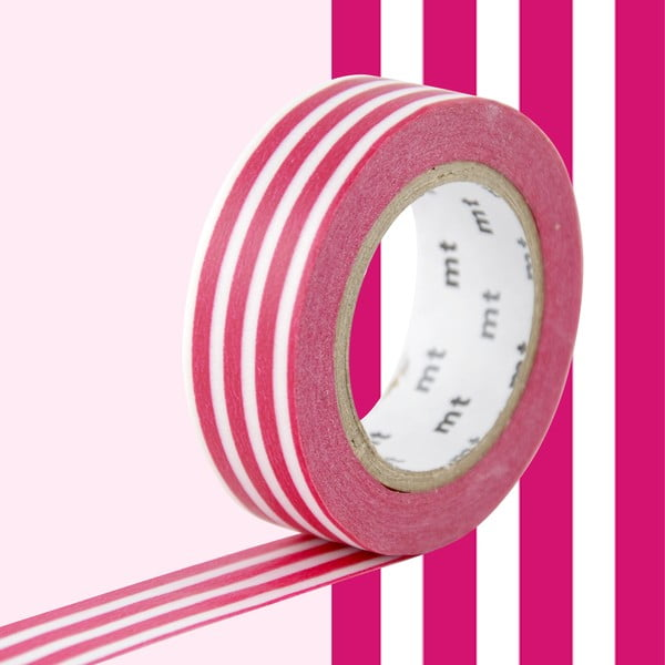 Bandă decorativă Washi MT Masking Tape Elvire, rolă 10 m
