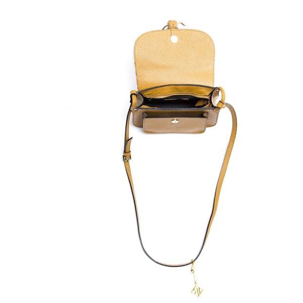 Kožená kabelka Isabella Rhea 1155, koňak