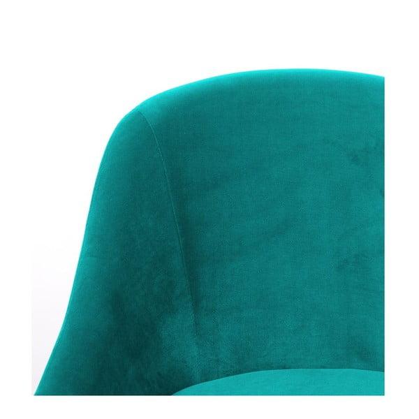 Křeslo Herman Turquoise