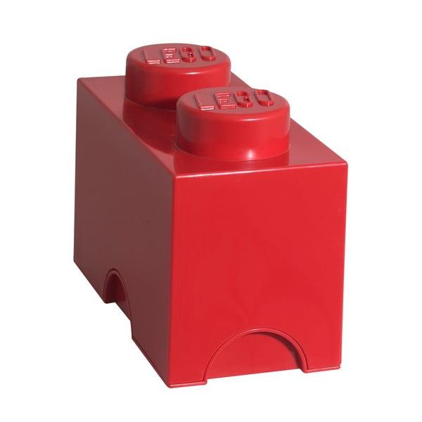 Červený úložný dvojboxík LEGO®