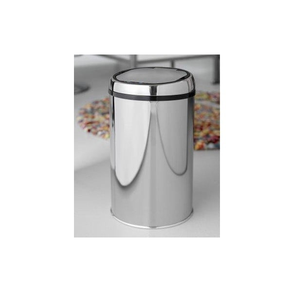 Coș de gunoi cu deschidere automată Steel Function Rimini, 12 l