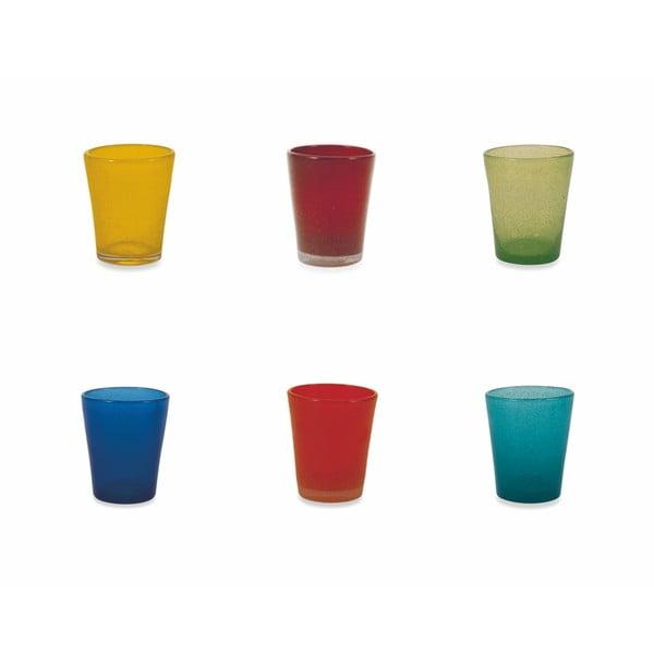 Sada 6 barevných skleniček Villad'Este Marea Multi