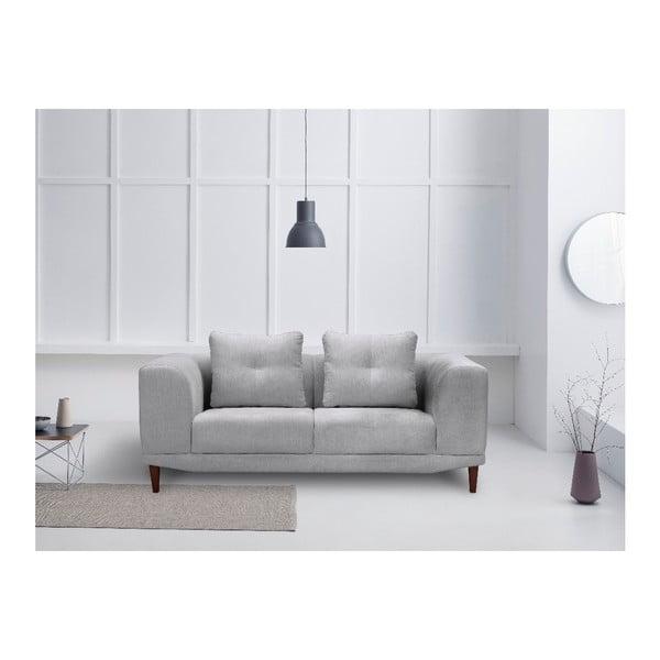 Světle šedá dvojmístná pohovka Windsor & Co Sofas Sigma