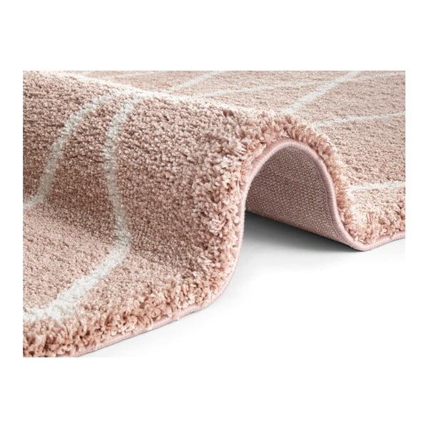 Růžový koberec Elle Decor Passion Abbeville, 200 x 290 cm