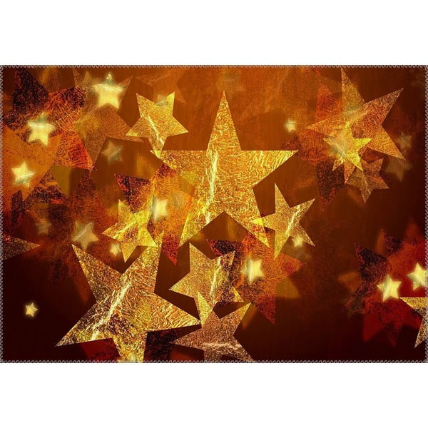 Christmas Period Sparkling Stars szőnyeg, 50 x 80 cm - Vitaus