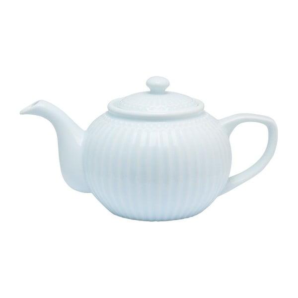 Světle modrá čajová konvice Green Gate Alice, 1l