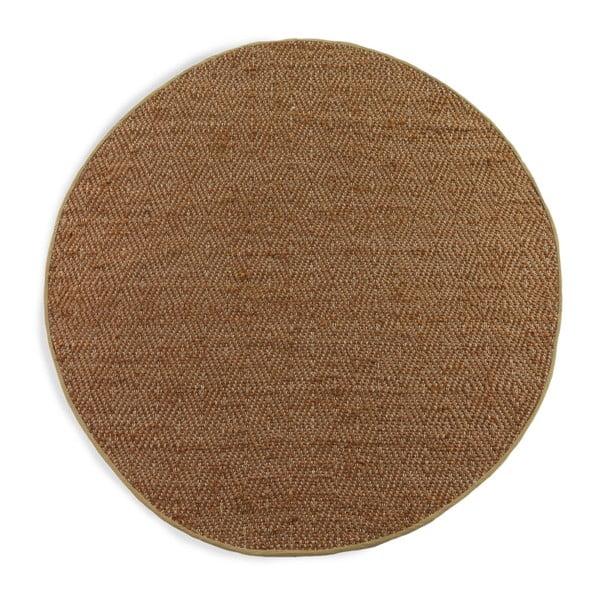 Maine barna szőnyeg, Ø 180 cm - Geese
