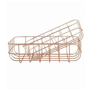 Sada 2 košíků Simply Copper S