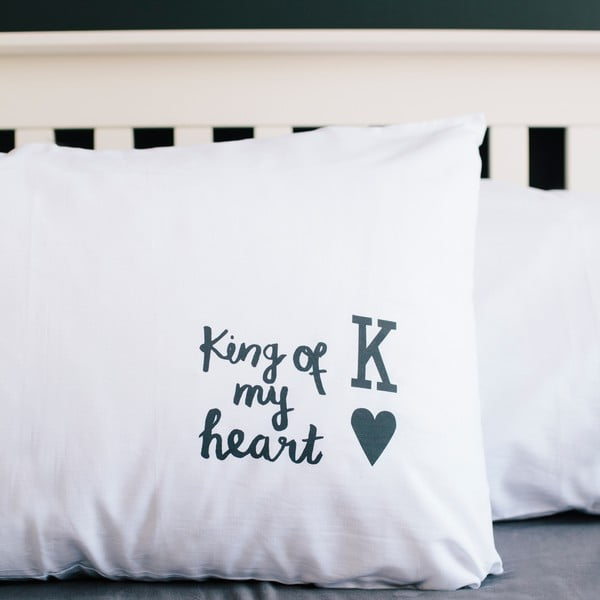 Povlak na polštář Karin Åkesson Design King Of My Heart, 50x70 cm