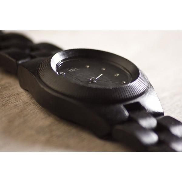 Dámské dřevěné hodinky Odyssey Black