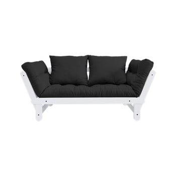 Canapea extensibilă Karup Design Beat White/Dark Grey de la Karup Design