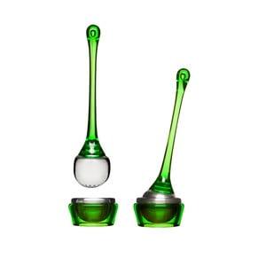 Zelené čajové sítko s miskou Sagaform