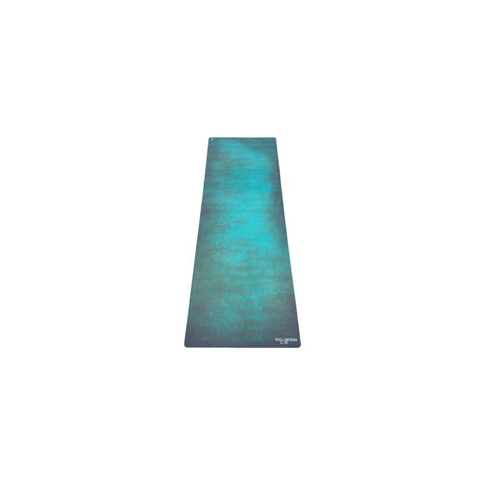 Zelená podložka na jógu Yoga Design Lab Combo Mat Aegean, 1,8 kg