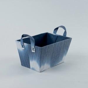 Modrý úložný koš Compactor Tie And Dye