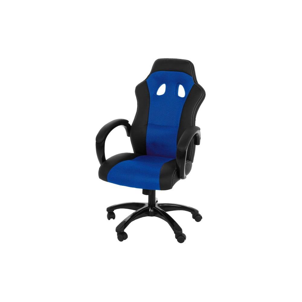Modro-černá kancelářská židle na kolečkách Actona Major