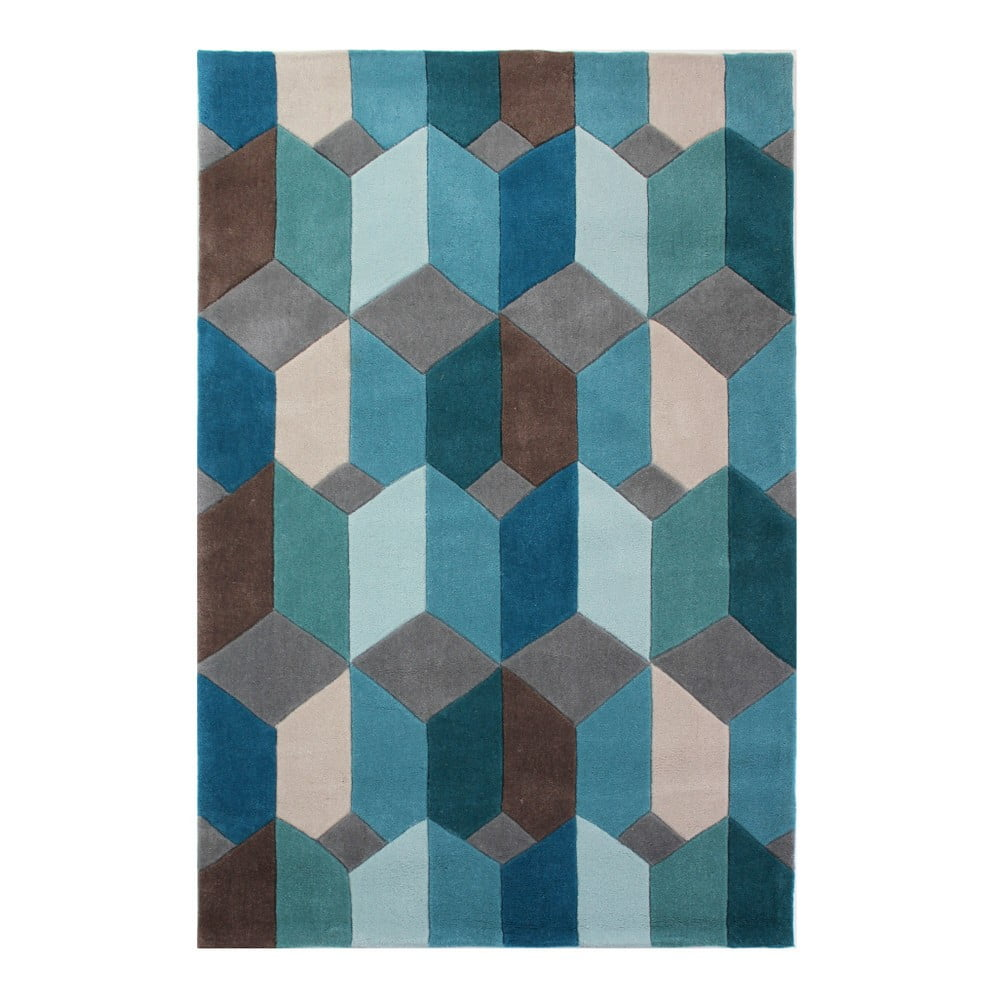 Modrý koberec Flair Rugs Scope,160x230cm