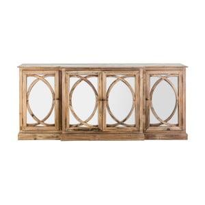 Comodă din lemn de pin reciclat VICAL HOME Vichy