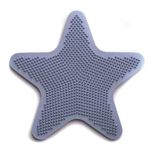 Sada 6 dekorativních podložek do koupelny Star Blue