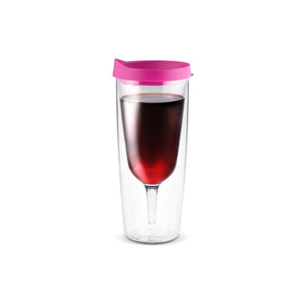 Termoska Vino 2 Go, růžová