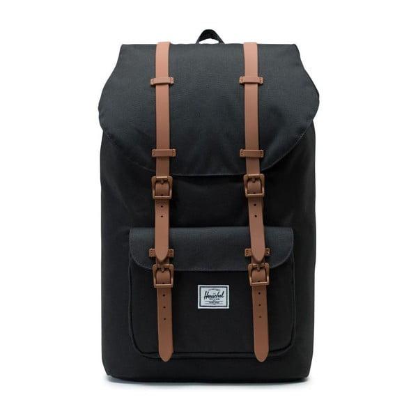 Černý batoh Herschel Little America, 25 l