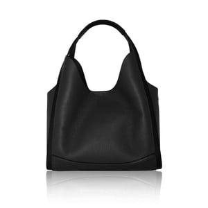 Černá kožená kabelka Maison Bag Giade