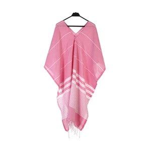 Plážové pončo z ručně tkané bavlny ZFK Pal