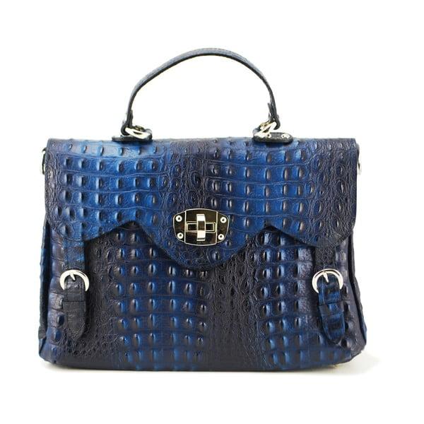 Kožená kabelka Cocco Patta Blue