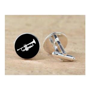 Sada 2 manžetových knoflíčků Butoni de Camasa Trumpet