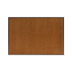 Karamelově hnědá rohožka Hanse Home Soft and Clean, 39 x 58 cm