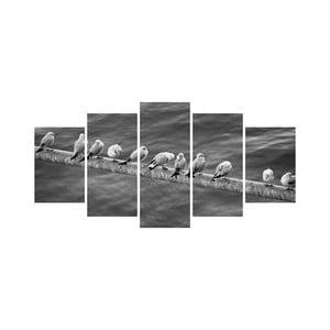 Vícedílný obraz Black&White no. 15, 100x50 cm