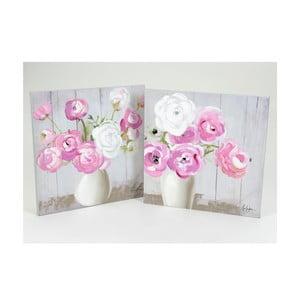 Plátna Pastel Bouquet, 60x60 cm, 2 ks