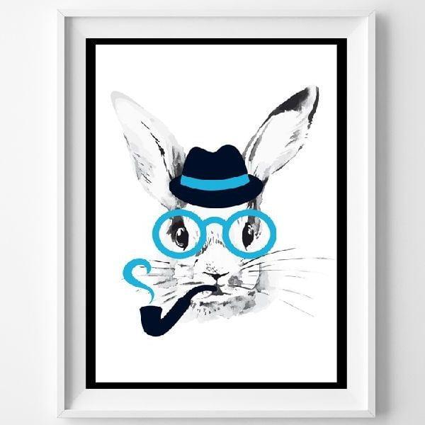 Plakát Mr. Rabbit, A3