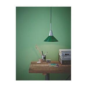 Zelené stropní svítidlo Herstal Martello Green Chrome