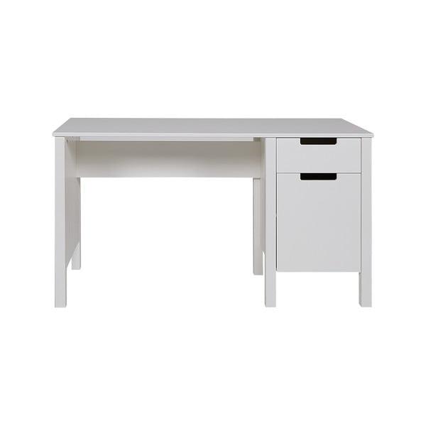Bílý pracovní stůl WOOOD Jade