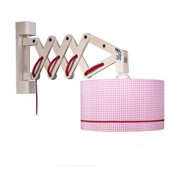 Nástěnné světlo Pink Zickack