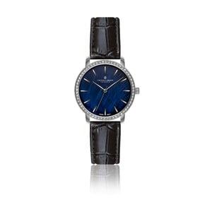 Dámské hodinky s černým páskem z pravé kůže Frederic Graff Monte Leone
