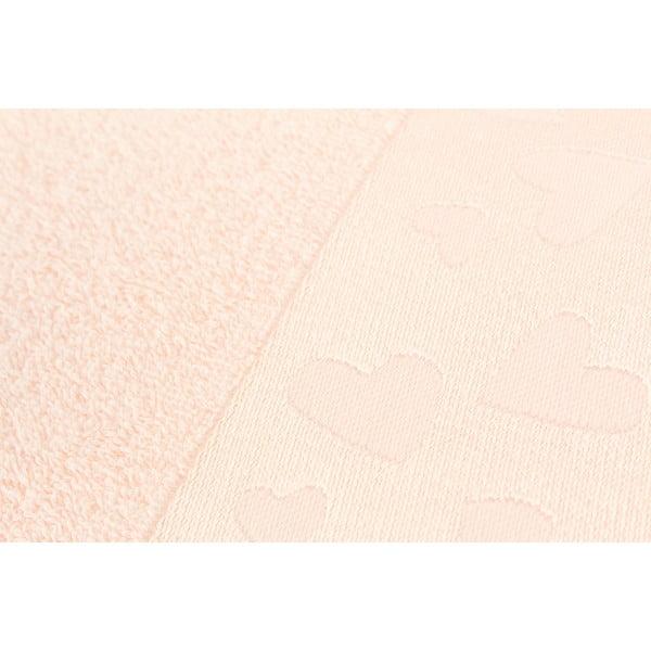 Sada 2 ručníků Kalp Salmon, 50x90 cm
