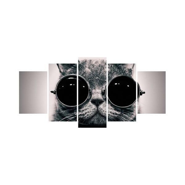 Vícedílný obraz Black&White no. 59, 100x50 cm